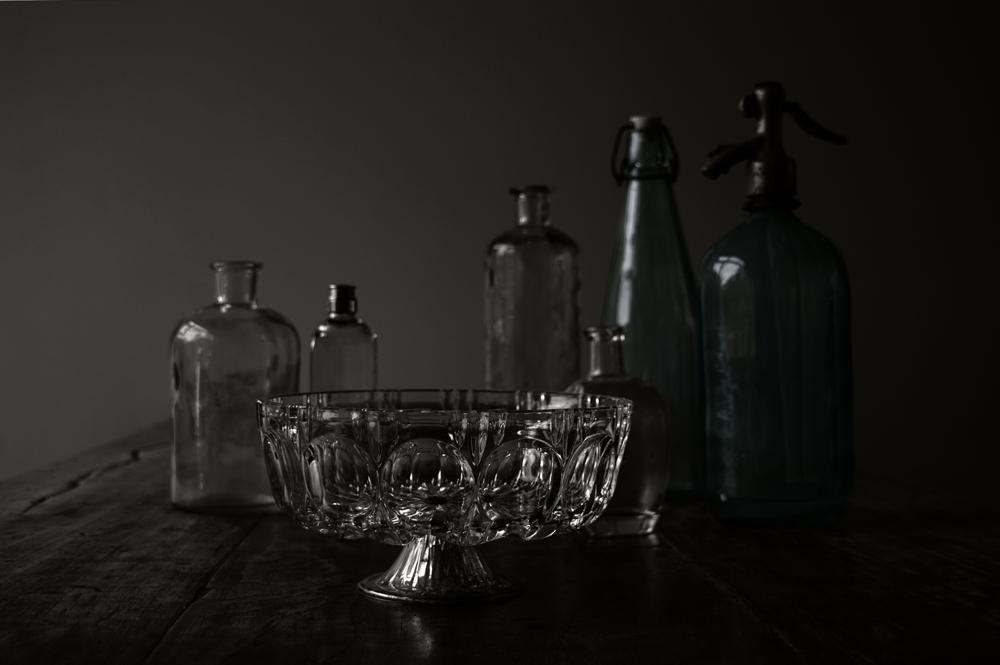 Memento mori - stilleven met glaswerk